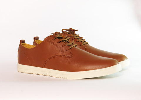CLAE Ellington Grizzly Tumbled Leather