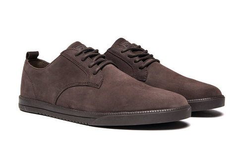 CLAE Ellington Umber Waxed Suede