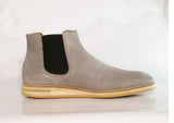 Gingers for Gentlemen FAIRFAX Grey suede chelsea boot. Made in Portugal.
