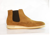 Gingers for Gentlemen FAIRFAX Tan suede chelsea boot. Made in Portugal.