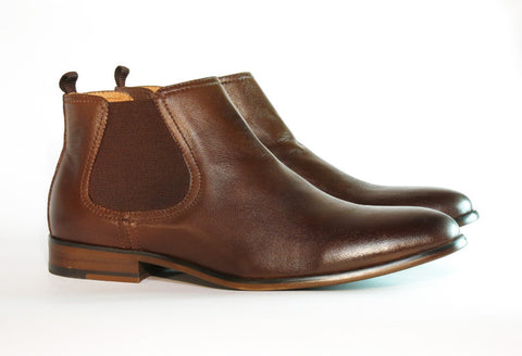 Gingers for Gentlemen HARROW 2 Brown Leather Chelsea