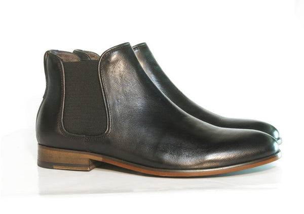 Gingers for Gentlemen HARROW 3 Black Leather chelsea boot.