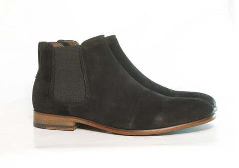 Gingers for Gentlemen HARROW 3 Black Suede chelsea boot.