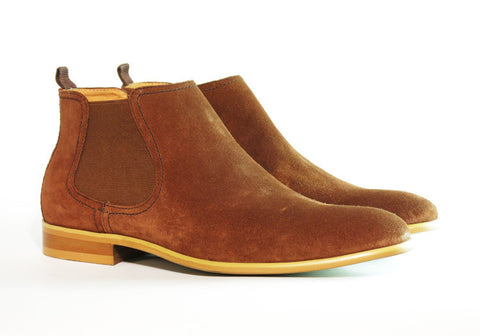 Gingers for Gentlemen HARROW 2 rust suede chelsea boot