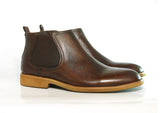 Gingers for Gentlemen HARROW  SOLE 2 Dark Brown Chelsea Boot