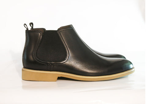 Gingers for Gentlemen HARROW SOLE 2 black leather