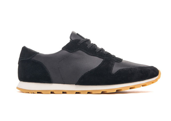 CLAE Hayward Waxed Black Suede