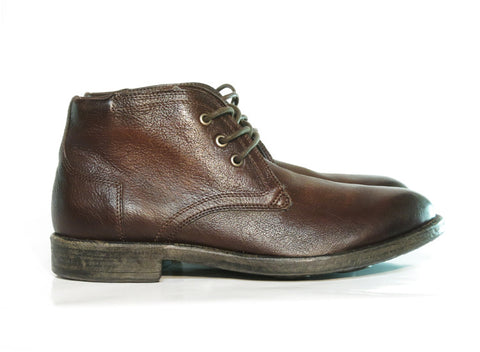 Brando by Mjus HOPPER Brown leather lace up, Italian Leather