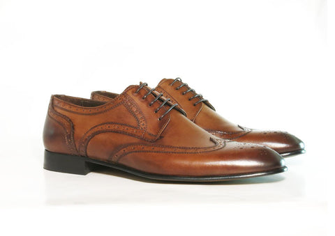 Gingers for Gentlemen MAISON brown leather brogue