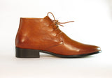 Gingers for Gentlemen MONFORTE 2 tan leather lace up boot