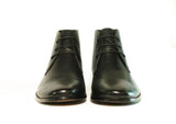 Gingers for Gentlemen MONFORTE 2 black leather lace up boot
