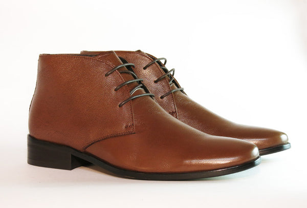 Gingers for Gentlemen MONFORTE 2 brown leather lace up boot