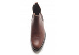 Royal Republiq NANO brown leather Chelsea boot, made in Portugal.