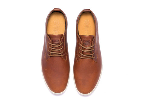 Clae Ellington Chestnut Oiled Leather AW 17
