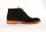 Gingers for Gentlemen PADDINGTON black seude desert boot