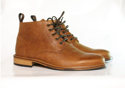 Beau Coops PINE 2 tan leather boot, made in Italy.