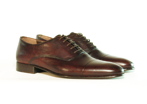 Gingers for Gentlemen SALERNO Brown leather oxford
