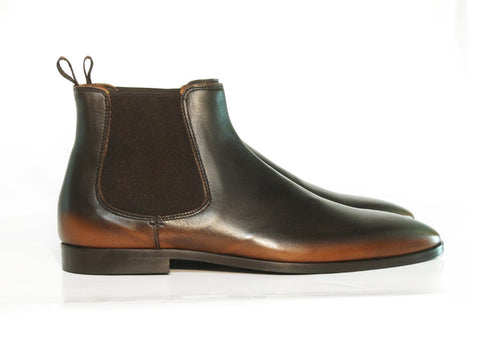 Gingers for Gentlemen UNION chelsea boot, made in Italy.