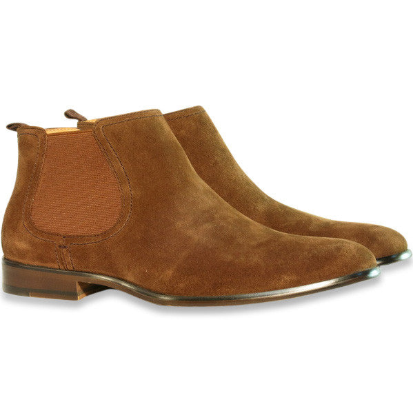 Gingers for Gentlemen HARROW 2 Brown suede Chelsea boot