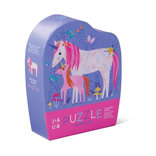 12 pc Mini Puzzle Unicorn
