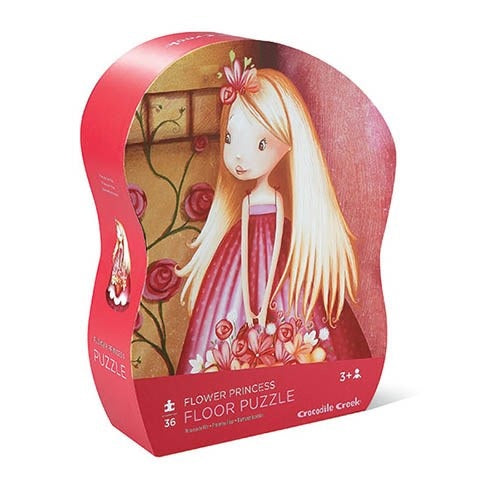 36 pc Shaped Puzzle/Flower Princess