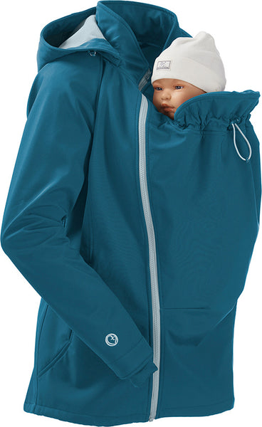 Giacca per portare Mamalila Softshell 3 in 1 // col. Teal