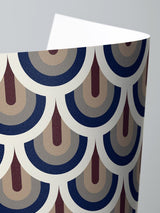 Jupiter10 geometric mid-century modern wallpaper Prague