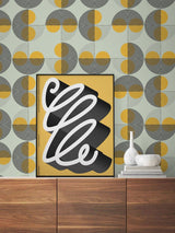 Jupiter10 geometric mid-century modern wallpaper San Francisco