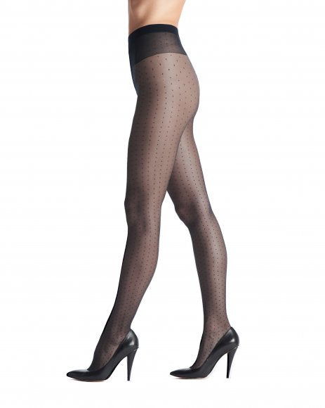 Adelle tights 20 den lycra tulle/micro dots VOBC40149