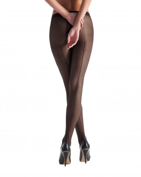 Riga tights 20 denier lycra rear seam VOBC1109