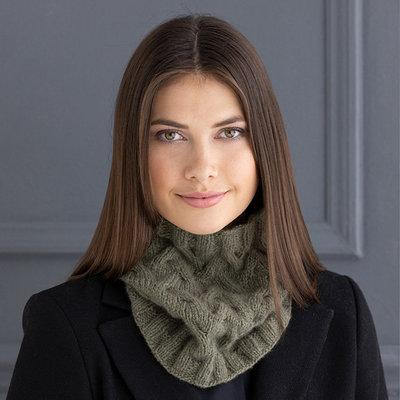 Clara Cowl by Mary Beth Kelso