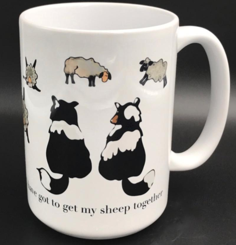 Get My Sheep Together - 15oz Ceramic Mug