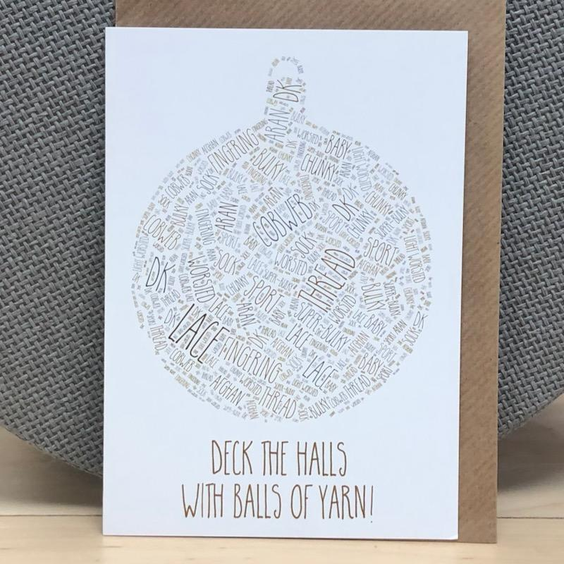 Greeting Card - Bauble