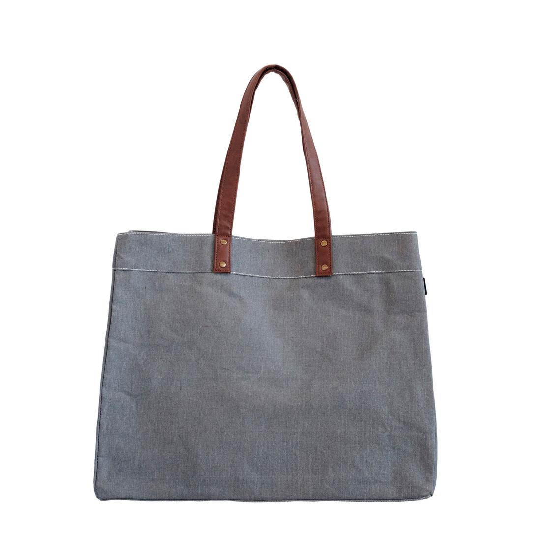 Maika Carryall Tote Plus - Charcoal Stripe