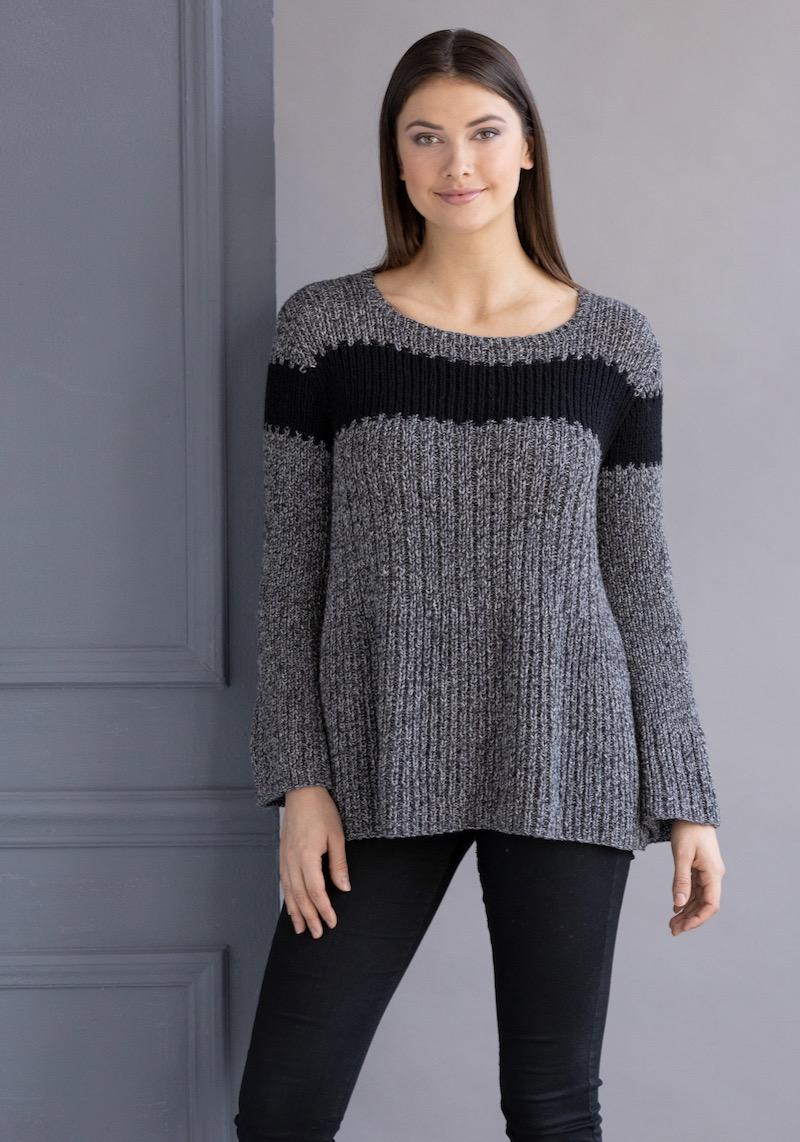String Tiffany Pullover by Lindy Ward