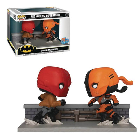 Red Hood vs. Deathstroke Comic Moment Pop! 2-Pk SDCC 2020 PX