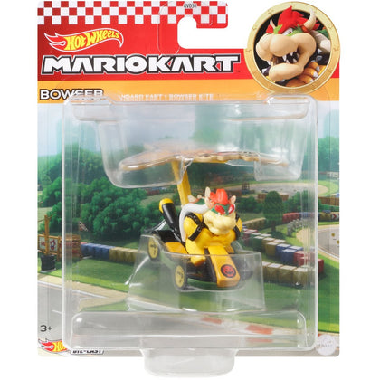 Mario Kart Glider - Hot Wheels - Bowser