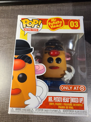 Mr. Potato (Mixed up) Target Exclusive Funko Pop avec défault