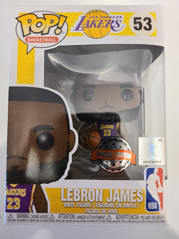 Lebron James Special Edition Funko Pop!