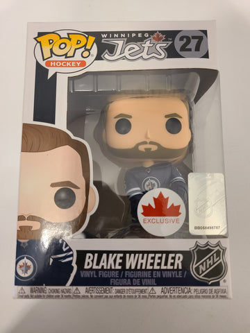 Blake Wheeler Winnipeg Jets NHL Canada Excl. Funko Pop! Avec défault