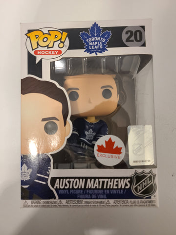 Auston Matthews Toronto Maple Leafs NHL Canada Excl. Funko Pop! Avec défault