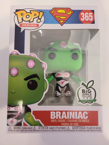 Brainiac DC Superman Funko Pop Big Apple Exclusive