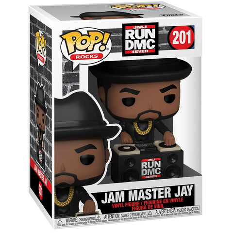 Run DMC Jam Master Jay Pop! Vinyl Figure