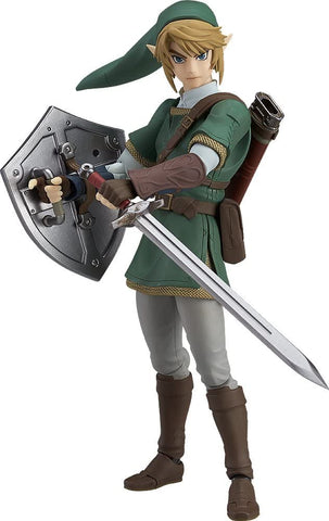 Good Smile The Legend of Zelda Twilight Princess Link (Version Deluxe) Figurine d'action Figma