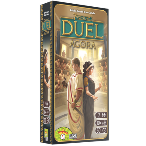 7 Wonders - Duel - Agora (Extension)