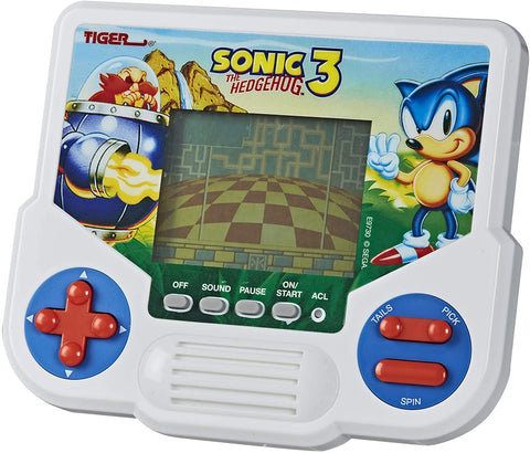 Tiger Electronics Sonic The Hedgehog 3 LCD Electronic Video Game Retro Edition