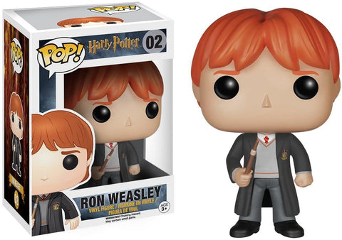 FUNKO Pop Movies : Harry Potter Ron Weasley Action Figure #02
