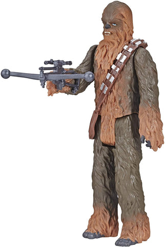 Figurine de Chewbacca Star Wars Galaxy of Adventures et mini bande dessinée