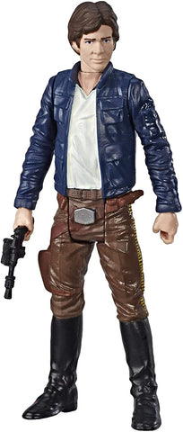 Star Wars Galaxy of Adventures Figurine Han Solo et mini bande dessinée
