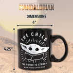 Tasse en céramique 20oz Star Wars The Child The Mandalorian Force is Strong